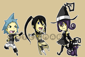 Stickers: Soul Eater 2 by forte-girl7