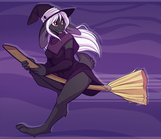 Bunnywitch - Commission by strawberryneko33