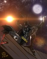 Batman does it himself by Nx3Fox