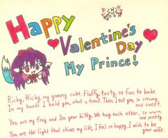 Valentine Day Letter by VixyNyan