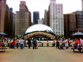 Chicago Tilt Shift by hapadesign