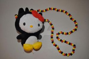 Hello Kitty Batzmaru Necklace by amyswlee