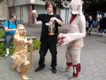 Pewdiepie, Stephano and a bro! by DestinyCosplayTeam