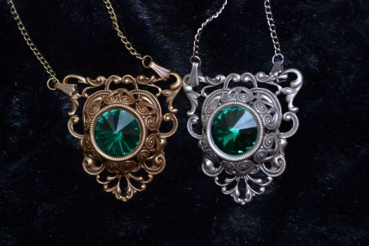 Victorian Gothic in Emerald by MonstersInThewall