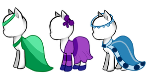 Pony dress adopts closed by HamsterFluf