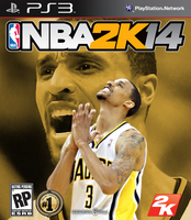 George Hill NBA2K14 Cover - PS3 by 1madhatter