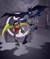 The New Batman and Robin by Bellyfluff