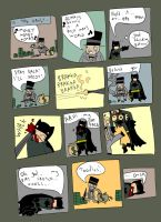 BATMAN IN CITY OF THE BAT Pg.3 by pernobassist