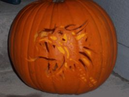 Drgn Pumpkin Carving *ANIMATED by Tusami