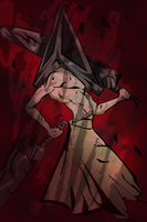 Pyramid head no toast by peekflow666