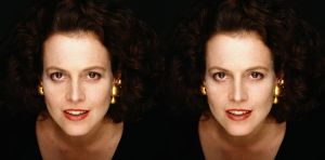 Sigourney Before and After by piratepigeon