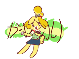 Kawaii Isabelle by PixelMiayu