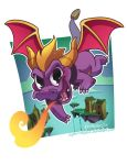 Spyro the Dragon by SupaCrikeyDave