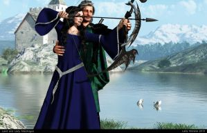 Laird and Lady MacAngus by Lady-Morana