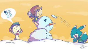 Snowfight by renzus