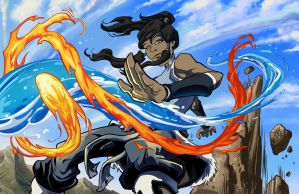 Legend Of Korra by AaronHoustonArt