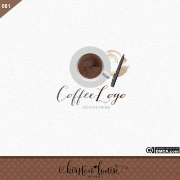 Coffee Logo Design by KirstenLouiseArt