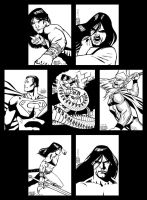 Sketch cards 10 by PENICKart