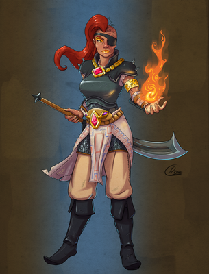 Gerudo Warrior by Oni-Tier