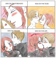 Cleon Kiss Meme by MissMokkorina