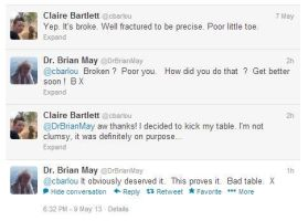 Brian May on Twitter by Oceansoul7777