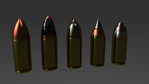 Warhammer Bolter Ammo by ClaireGrube