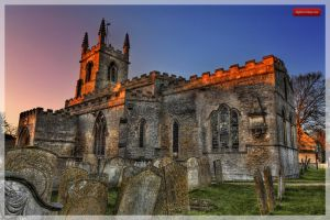 St Peter's Church Great Casterton 1/2 by MikeyMonkey