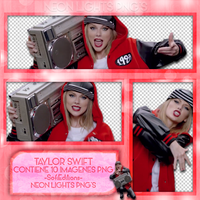 Taylor Swift -Shake It Off Video1 -NeonLightsPNG'S by SoffMalik