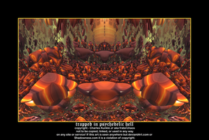 trapped in psychedelic hell by fraterchaos