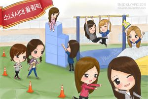 SNSD Olympic by mewzim