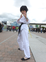 Makoto Cosplay for MCM Expo 2014 (Street Fighter) by helyxzero