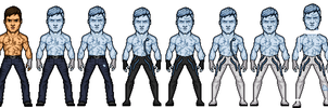 iceman/mark (turbo colection) by dicaico