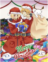 APH - Merry Christmas 2010 by mikokume-raie