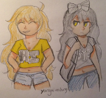 RWBY- Bumbleby by lifefibers