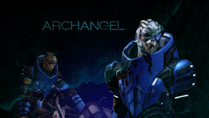 Mass Effect 2 Garrus Wallpaper by lunar47