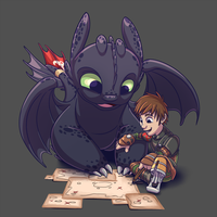Beyond Berk - HTTYD 2 by stinawo