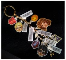HPMoR shrinky dinks charms by Korn-Elia