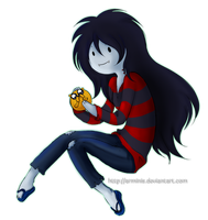 Second Mini Marceline Fanart by arminis