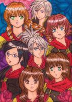 FF type 0 girls tribute by dagga19
