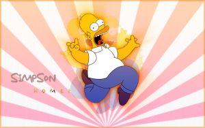 Simpsons Widescreen Wallpaper by paradoxparty
