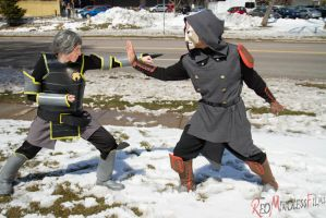 Amon Versus Lin by RedMindlessFilms
