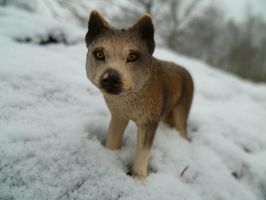 WolfInTheSnow~Schleich by I-AmAnonymous