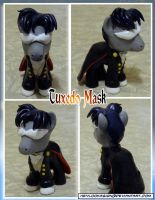 Tuxedo Mask Pony by HeyLookASign