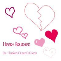 HeartsBrushes by TheRealQueenOfChaos