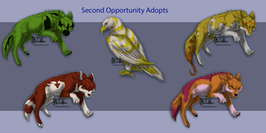 Second Opportunity Adopts AUCTION ON HOLD by TatiilangeAdoptables