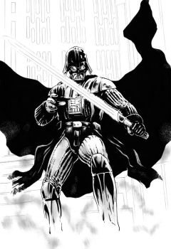 Darth Vader by jasonbaroody