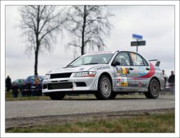 Rally car by goldmines