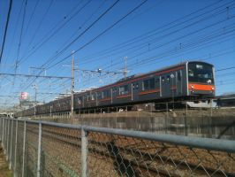 JR East 205-5000, Fuchuhonmachi by ToniBabelony