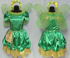 Tinkerbell Cosplay Costume by Gypsy-Red