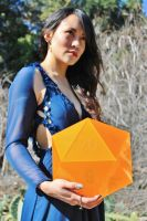 Dungeons and Dragons Amber D20 by Daria168
